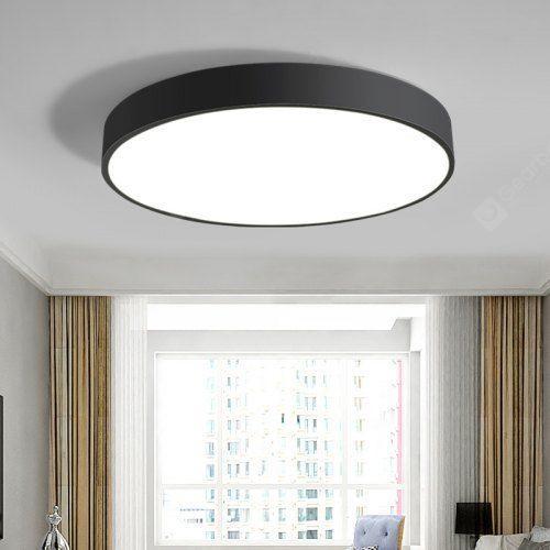 RHGD Nordic LED Ceiling Lamp Bedroom Round Restaurant Simple .