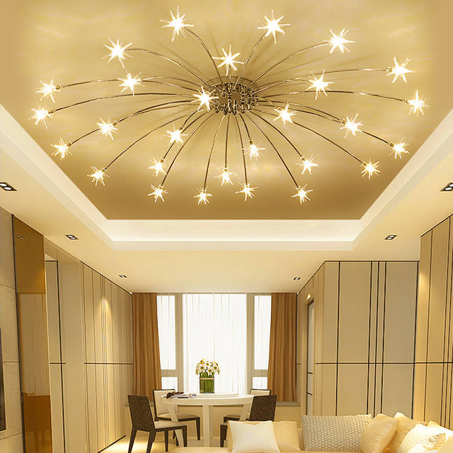 Modern LED living room ceiling lamps bedroom ceiling lights nordic .