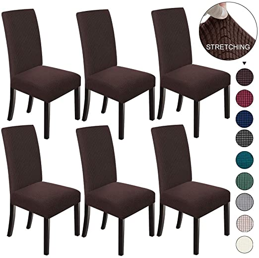 Amazon.com: NORTHERN BROTHERS Dining Chair Covers Stretch Chair .
