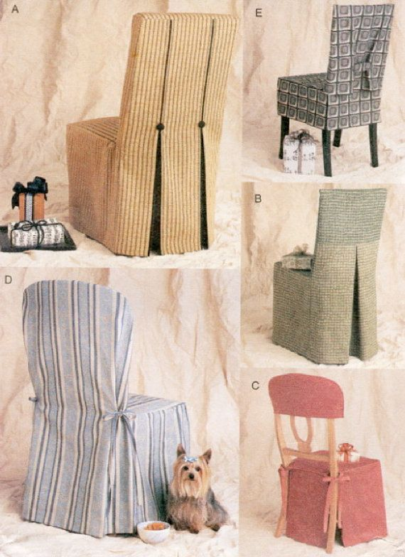 Vogue CHAIR COVER Sewing Pattern 5 Vogue Seat Covers ~ SOLD! | Diy .