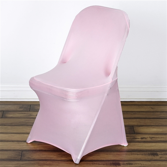 Spandex Pink Chair Covers | Folding Chair Covers | Razatra