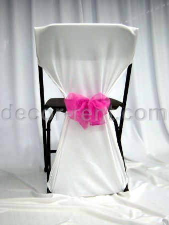diy chair covers for folding chairs | How to Make No Sew .