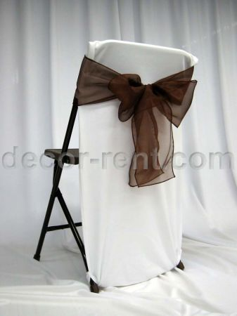 make those metal chair look better! | Wedding reception chairs .