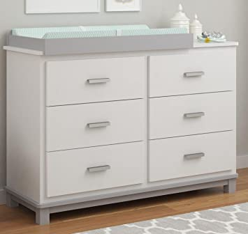 Amazon.com : Cosco Products Leni 6 Drawer Dresser with Changing .