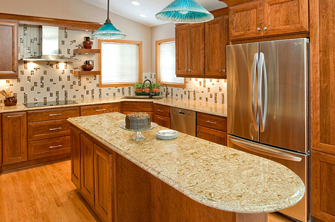 3 Reasons to Have Cherry Wood Kitchen Cabinets Install