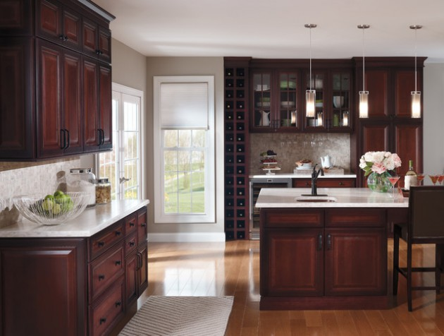 16 Classy Kitchen Cabinets Made Out Of Cherry Wo