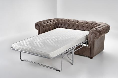Chesterfield sofa bed 7 inches mattress furniture   Chesterfield .