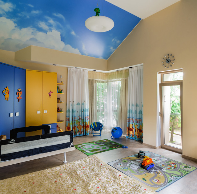 16 Playful Contemporary Kids' Room Designs To Give Comfort To Your .