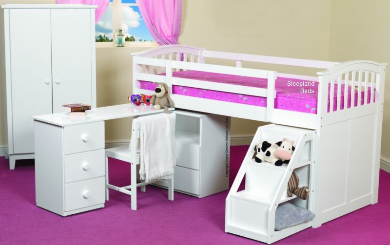 childrens beds with storage - Vintage Dec