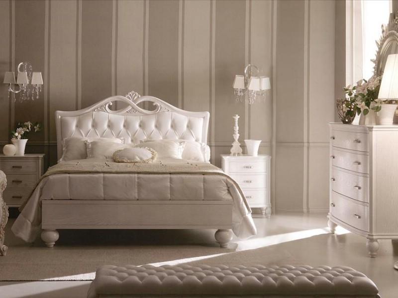 Classic bedroom furniture Via Veneto - Italian bedroom furniture .