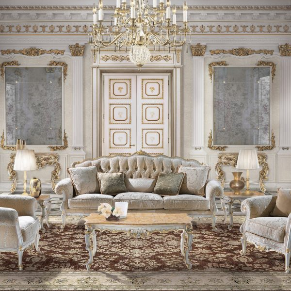 Luxury classic furniture in Louis XIII - Baroque style by Angelo .