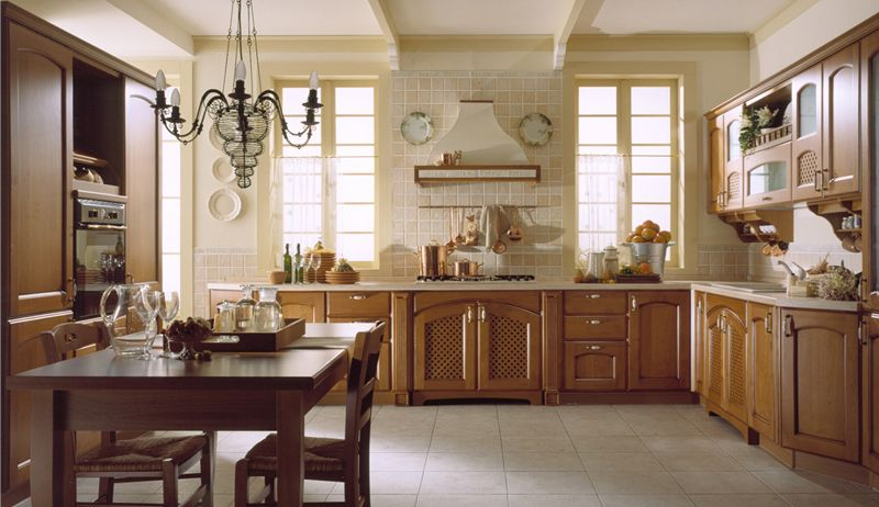 Classic Kitchen Design Ipc200 - Unique Kitchen Designs - Al Habib .