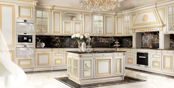 Classic style kitchen | IDFdesi