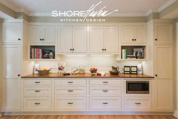 Classic White Kitchen | ShoreHaven Kitche