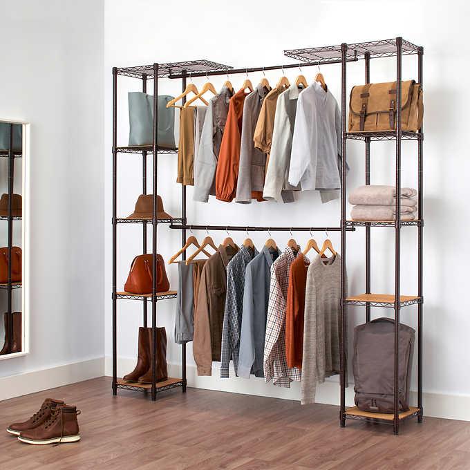 TRINITY Expandable Closet Organiz