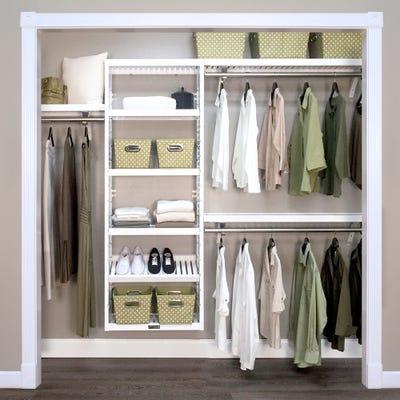 White, Closet Organizer Storage & Organization | Find Great Home .