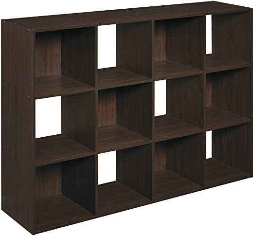 Amazon.com: ClosetMaid 1292 Cubeicals Organizer, 12-Cube, Espresso .