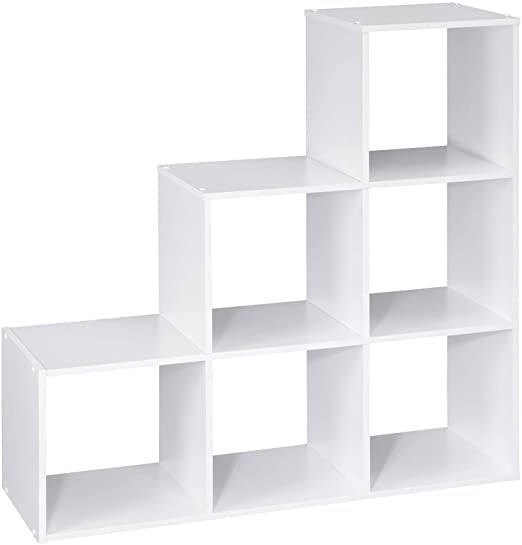 Amazon.com: ClosetMaid 1043 Cubeicals Organizer, 3-2-1 Cube, White .