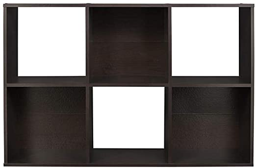Amazon.com: ClosetMaid 78815 Cubeicals Organizer, 6-Cube, Espresso .