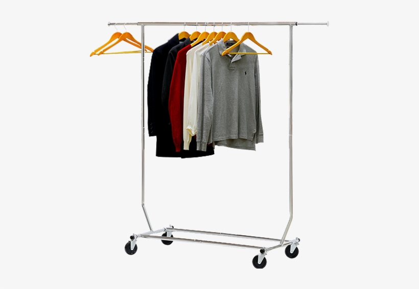 Commercial Grade Clothing Garment Rack - Simple Houseware Heavy .