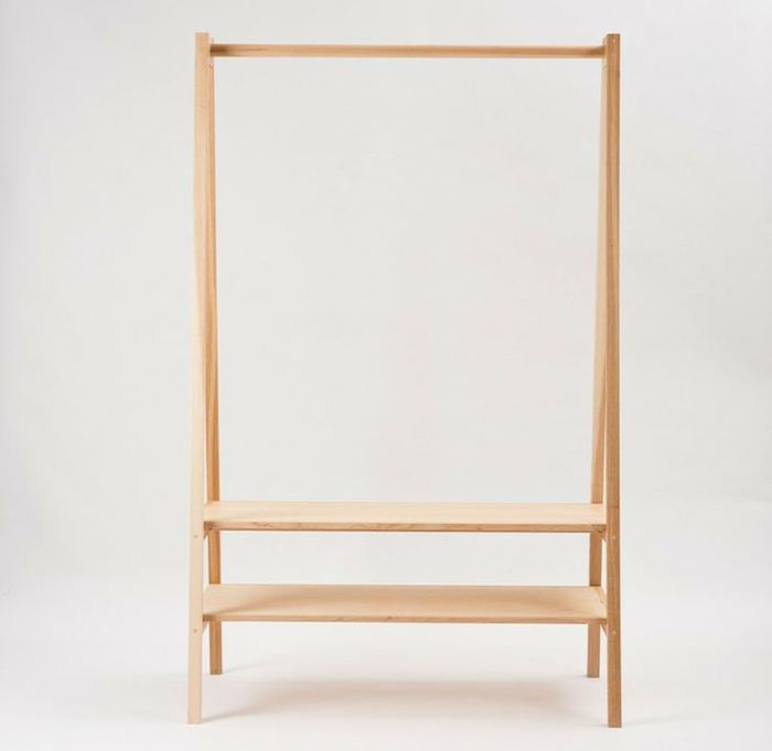 10 Easy Pieces: Freestanding Wooden Clothing Racks - Remodelis