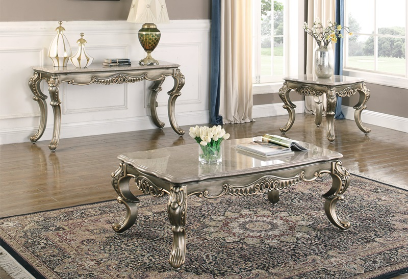 30-535 Ophelia Coffee Table Set | New Classic | Free Delive