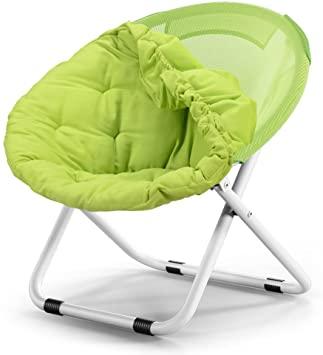Amazon.com: Jinxin Moon Chair Canvas Comfortable Folding Chair X .