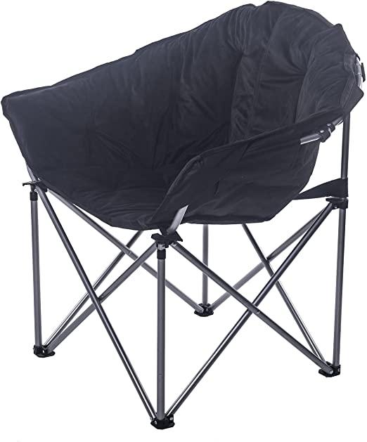 Amazon.com: ECOLINEAR Folding Saucer Moon Chair Portable Club Fur .