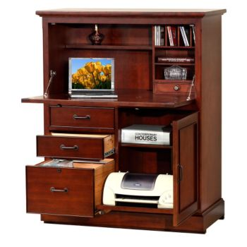 Willow Creek Computer Armoire - 41W - 8803360 | OfficeFurniture.c