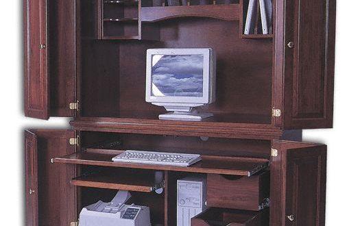 2 PC Computer Center - Computer Armoires - Home Offi