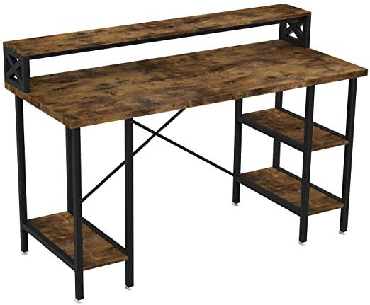 "Amazon.com: IRONCK Industrial Computer Desk 55"", Office Desk with ."