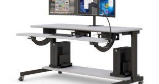 Bi-level Computer Workstation De