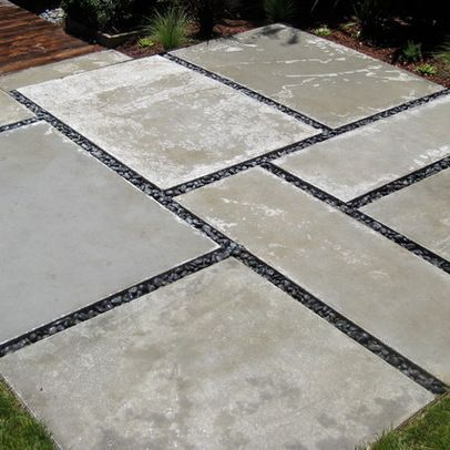 Large Concrete Pavers Design Ideas, Pictures, Remodel, and Decor .