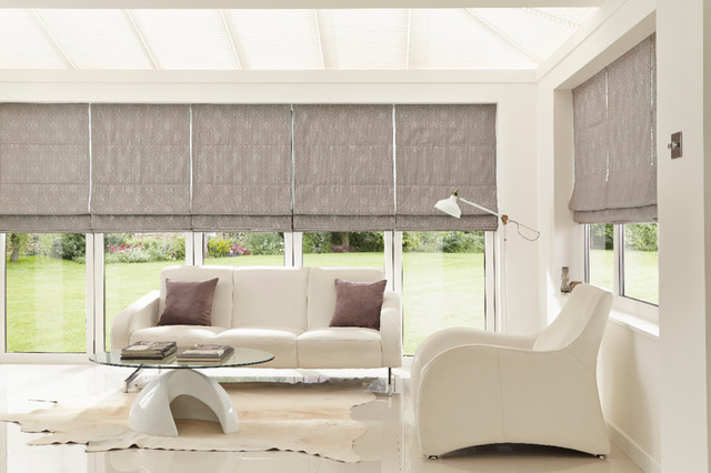 Conservatory blinds and interiors - Contemporary - Sunroom - Other .