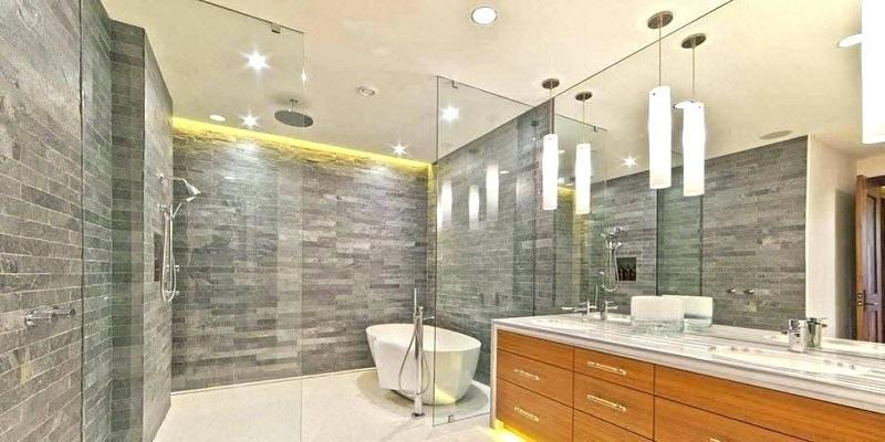 Contemporary Bathroom Lighting Ide