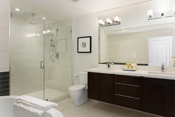 Commercial Interior Home Design: Bathroom Vanity Ligh