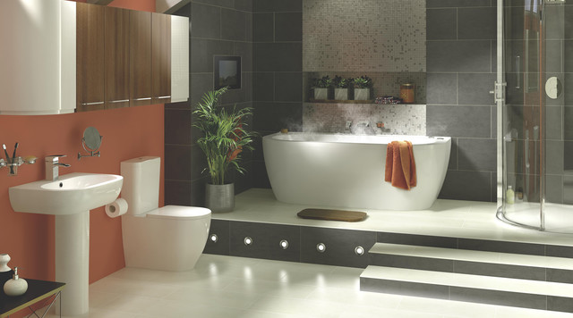 Helena Bathroom Suite - Contemporary - Bathroom - Hampshi