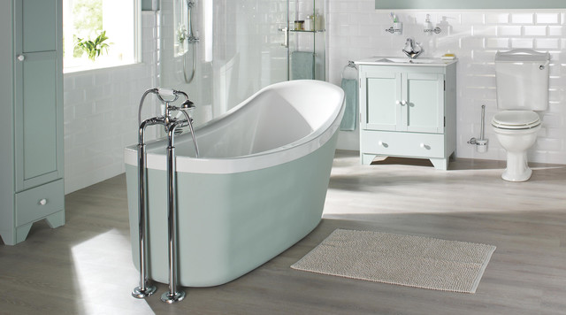 Canterbury Bathroom Suite - Contemporary - Bathroom - Hampshi