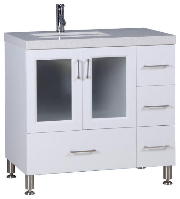 "Westfield 36"" Single Sink Vanity - Contemporary - Bathroom ."