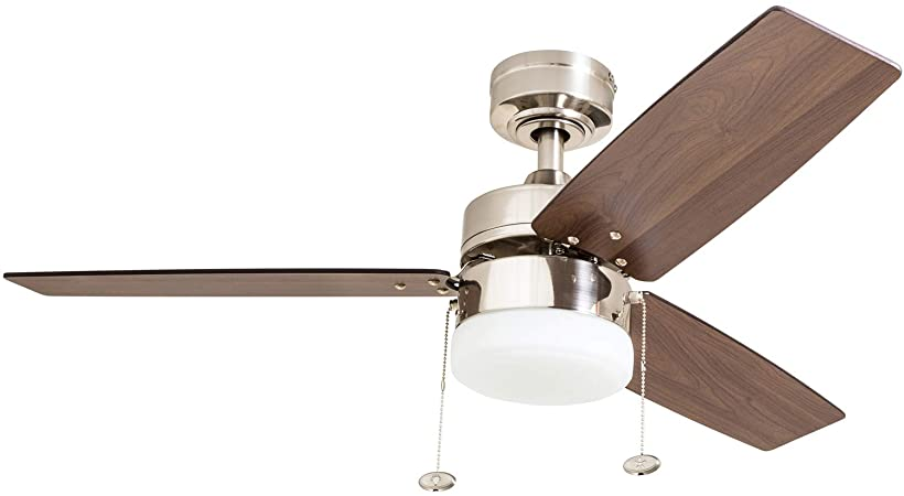 Prominence Home 51014 Reston Contemporary Ceiling Fan, 42 .