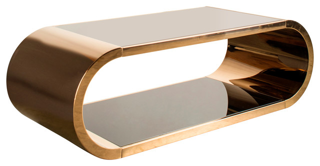 Pia Chrome Coffee Table - Contemporary - Coffee Tables - by .