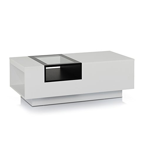 Amazon.com: ioHOMES Dekker Modern Coffee Table, White: Kitchen .