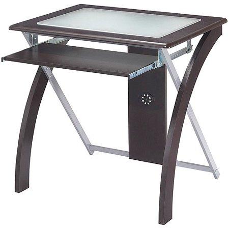 X-Test Computer Desk, Espresso - Walmart.com - Walmart.c