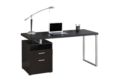 Monarch Specialties Contemporary Computer Desk With 2 Drawers And .