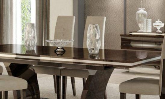 Giorgio Bell Italian Modern Dining Table Set – Saltandblu