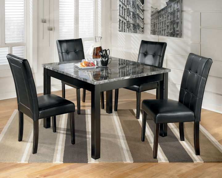 Marsville Collection D154 Contemporary Dining Table S