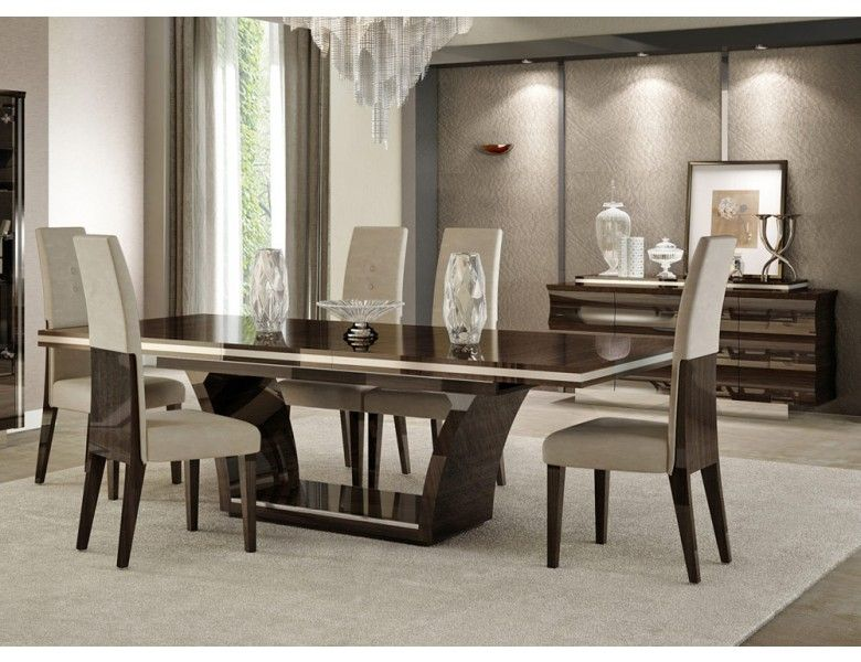 Giorgio Bell Modern Dining Table Set | Modern dining room tables .
