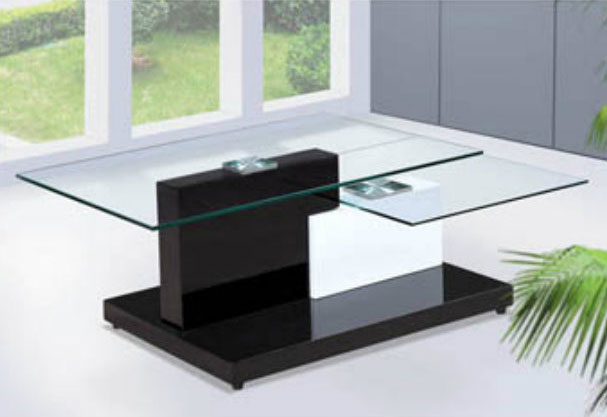 Modern glass coffee table BQ350 | Contempora