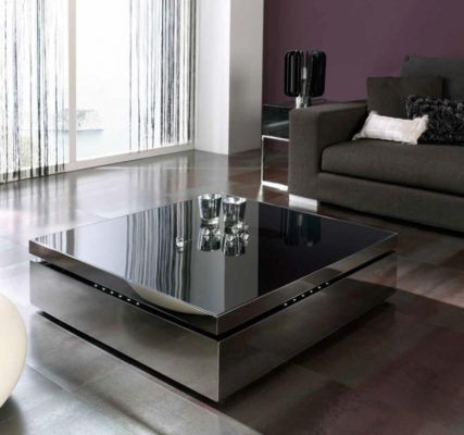 Modern Coffee Tables with Glass Tops and Trendy Designs For Your .