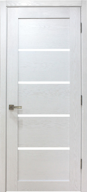 Palermo White Oak Modern Interior Door - Contemporary - Interior .